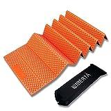 [リベルタ]LIBERTA 寝転び レジャーマット キャンピングマット キャンプマット アウトドアマット 厚手 折り畳み コンパクト 約20mm オレンジ