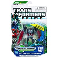 Transformers Cyberverse Action Figure with DVD - Starscream