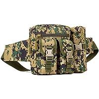 YuHan Hiking Waistpacks Outdoors Tactical Waist Pack Pouch Water Bottle Pocket Holder Molle Hip Belt Bag