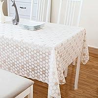 テーブル クロス ヨーロピアン スタイル農村防水とホット オイル フリー PVC コーヒー テーブル テーブル布プラスチック シート アート テーブル クロス長方形-A 138x90cm(54x35inch)