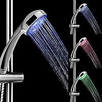 カラフルLEDシャワー水のヘッドホーム浴室7色変更グローライトシャワーヘッド