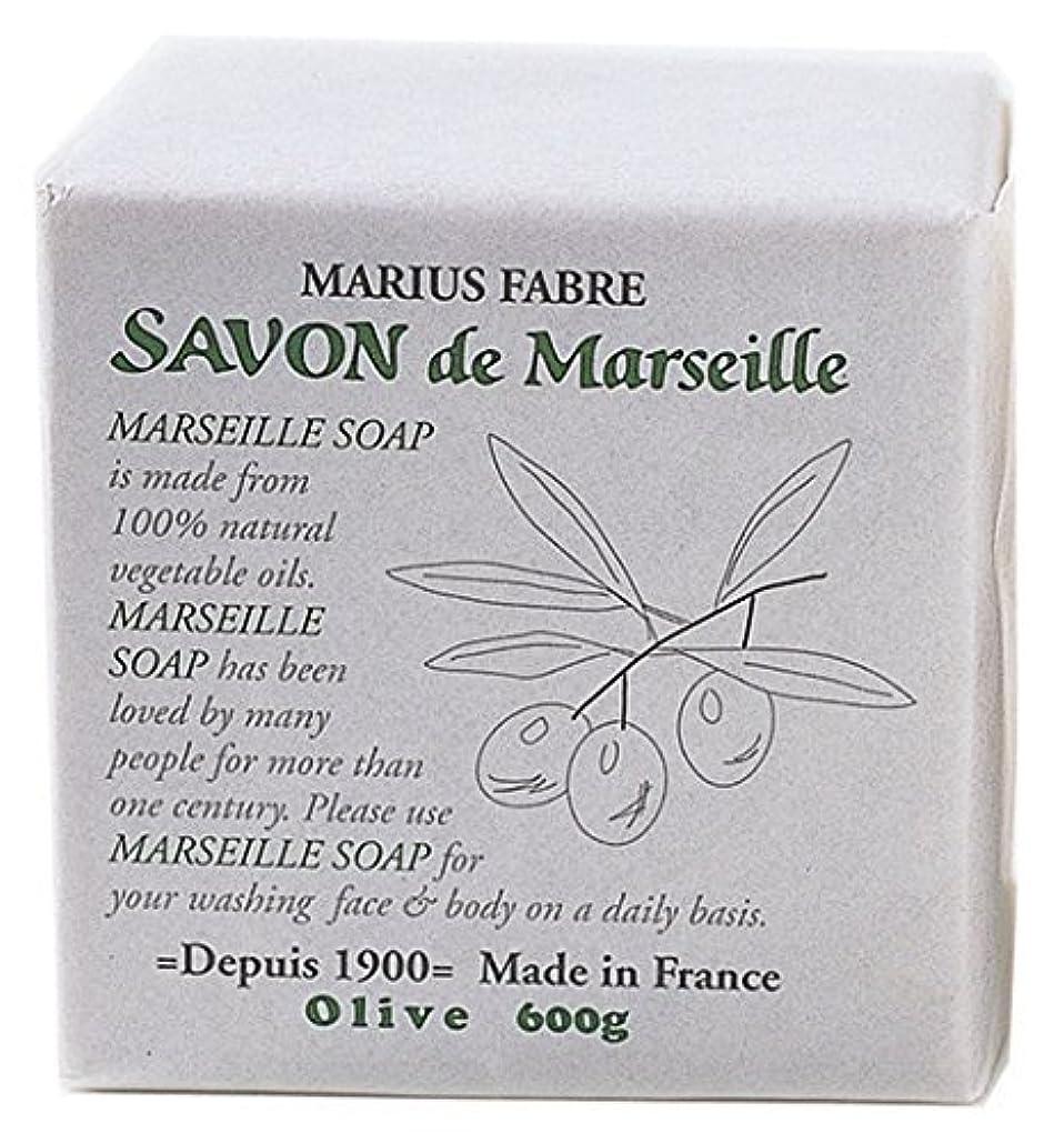 苦メンテナンス水分サボンドマルセイユ オリーブソープ 600g 無香料タイプ