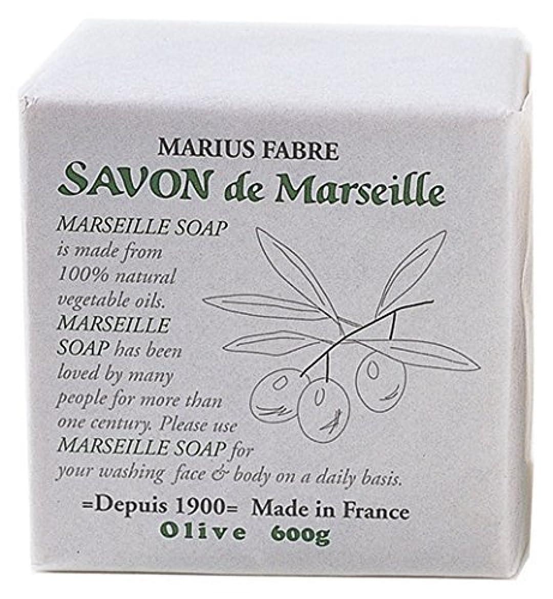 保安測定サイレンサボンドマルセイユ オリーブソープ 600g 無香料タイプ