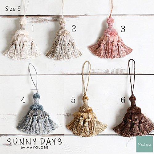 サニーデイズバイメイグローブ(SUNNY DAYS by MAYGLOBE) タッセル 小 /sd14005-6 (カラー ブラウン) 株式会社スプリング