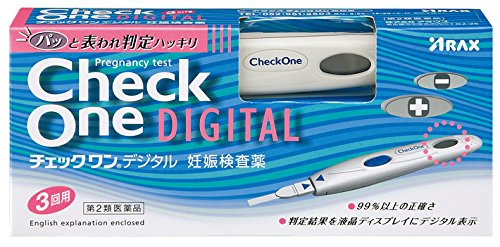 【第2類医薬品】チェックワンデジタル 3回用