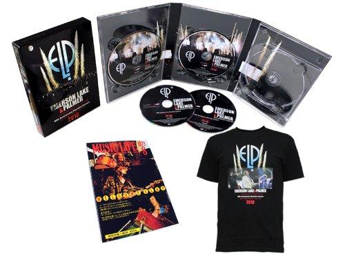 ハイ・ヴォルテージ・フェスティヴァル 2010 【通販限定500セット コンプリートBOX 3DVD + Blu-ray + ミュージック・ライフ復刻 + オリジナルTシャツ】 (TシャツL)