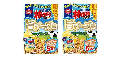 亀田の柿の種 那須限定 旨チーズ味 × 2箱 (2箱【まとめ買い】)