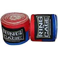Handwraps Mexican Style stretchable-レッド/ブルー – Super Long 220