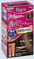 ビゲン 香りのヘアカラー クリーム 5 ブラウン × 10個セット