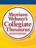 Merriam-Webster's Collegiate Thesaurus, Second Edition (Engl…