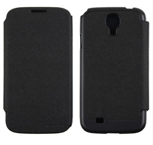 GALAXY S4 レザーフリップケース (docomo GALAXY S4 SC-04E/Samsung Galaxy S IV 対応 By Mercury) GOOSPERY FANCY Flip Style (ワンセグ対応/ICカード収納/画面保護フラップ) Black(黒)