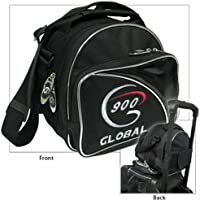 900グローバルadd-a-bag SingleトートバッグBowling bag-ブラック/シルバー