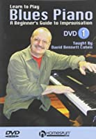 Learn to Play Blues Piano: Lessons 1-4 [DVD] [Import]