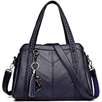 Ohyoulive Women Casual PU Handbag Large Capacity Removable Straps Crossbody Shoulder Bag for Daily Easily Hold Outdoor Activities, Keys, Phones, Purse, Etc Shoulder Or Crossbody Bag