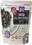 徳山物産 韓流ごはん 韓国ふりかけ海苔(明太子粉末入り) 45g×2個