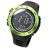 [ Lad Weather ]腕時計3軸加速度計アラームセンサー高度計天気予測登山/ランニング/ハイキングアウトドア時計