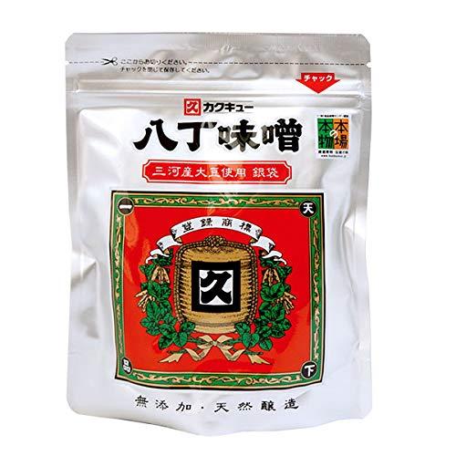 カクキュー八丁味噌 300g 銀袋 【無添加 三河産大豆 豆みそ】