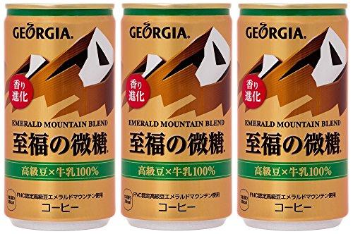 エメラルドマウンテン 至福の微糖 缶185g