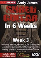 Andy James Shred Guitar in 6 Weeks: Week 3 [DVD] [Import]
