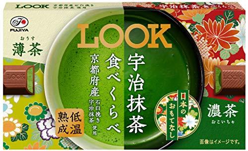 不二家 ルック(宇治抹茶食べくらべ) 12粒 ×10箱
