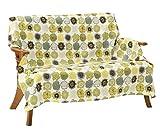 Vita home マルチカバー 正方形 140×140 cm 北欧 ピコ グリーン 綿100% 日本製 mc_002_gr