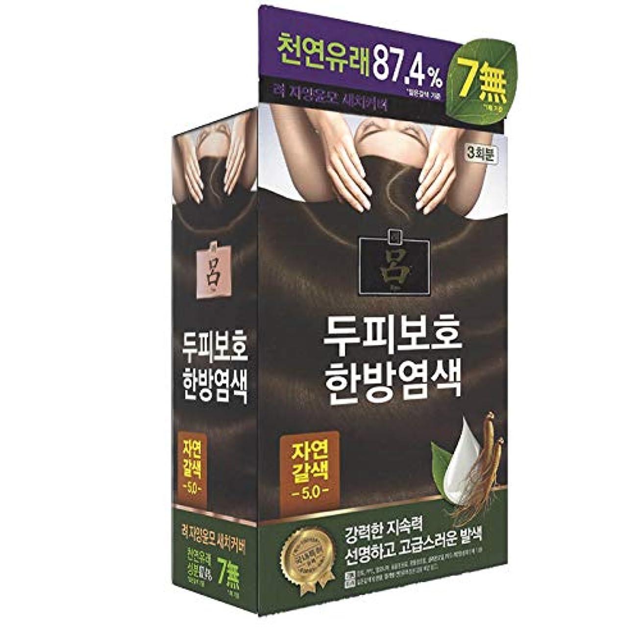 カエル工場パイントアモーレパシフィック呂[AMOREPACIFIC/Ryo] Jayang Yunmoグレーヘアカバー 5.0 ナチュラルブラウン(Natural Brown)