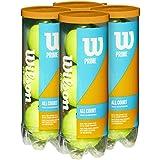 Wilson(ウイルソン) テニスボール プレッシャーライズドボール PRIME ALL COURT (プライムオールコート) Amazon限定モデル