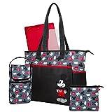 ディズニー [Disney]  ミッキーマウス 5-in-1 マザーズバッグ セット Disney - MICKEY MOUSE 5-in-1 Diaper Bag Set 【並行輸入品】