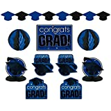 Congrats Grad Blue Graduation Decorating Kit おめでとうグラドブルー卒業デコキット?ハロウィン?クリスマス?