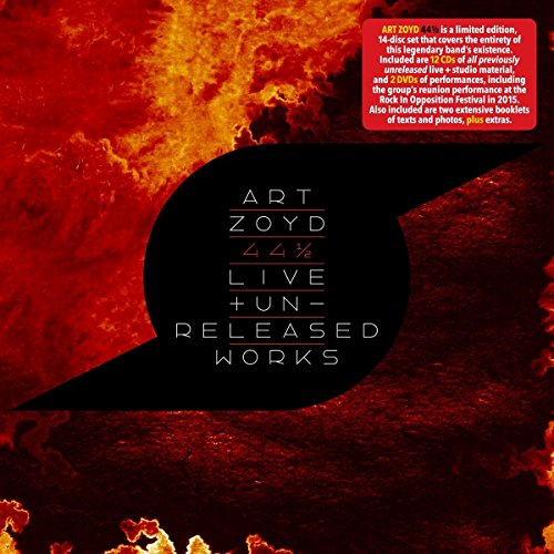44 1/2 : Live And Unreleased Works Box Set (12cd+Pal 2dvd+Book+T-Shirt)