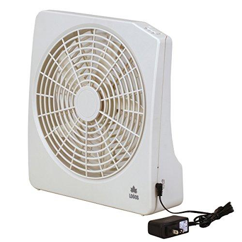 ロゴス 扇風機 2電源・どこでも扇風機(AC・電池) 813...
