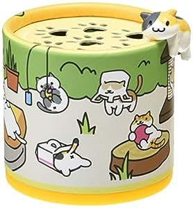 カーメイト 車用芳香剤 フチにゃん&ねこあつめ ゲル 置き型 猫好きのためのネコフィギア付き やさしいジャスミンの香り 80g G1154