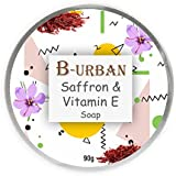 B-URBAN SAFFRON & VITAMIN E SOAP MADE WITH NATURAL AND ORGANIC INGREDIENTS. PARABEN AND SULPHATE FREE. SOAP FOR...