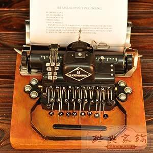 インテリア雑貨 タイプライター アメリカ式 1917年