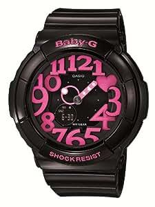 [カシオ]CASIO 腕時計 Baby-G ベビージー Neon Dial Series ネオンダイアルシリーズ BGA-130-1BJF レディース
