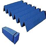 Optimus レジャーマット 折りたたみ PVC 厚手 20mm アウトドア 全4色 ブルー