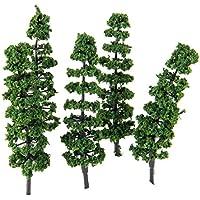 20個入り モデルツリー 樹木 木 鉢植え用 鉄道模型 風景 モデル トレス 情景コレクション ジオラマ 建築模型 電車模型 HO N スケール 1/100 9cm