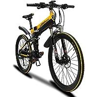 Cyrusher XT750 男子折りたたみアシスト自転車 フルサスペンション 500W 48v 10.8ah シマノ27段速 公道走行と防犯登録可能