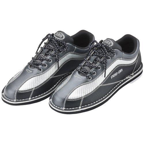(ABS) ボウリングシューズ S-570 ブラック・シルバー 【ボウリング用品 靴】