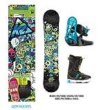 K2 15-16 2016 GROM PACK BOYS グロムパックボーイズ キッズ スノーボード 5C/S 120cm