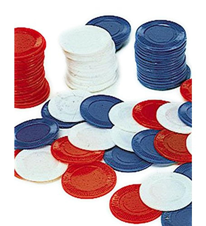 (カバーユアヘア)CoverYourHair 100ブルーポーカーチップ - ブルーで100ポーカーチップのセット 【インポート】