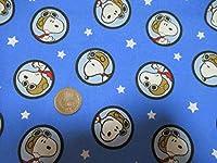 Snoopy Peanuts:Snoopy Red Baron Badge 45cmx54cm:スヌーピー、ピーナッツ、USAコットン