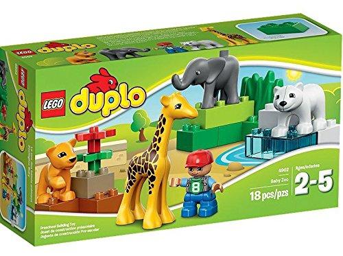 レゴ (LEGO) デュプロ ちいさなどうぶつえん 4962