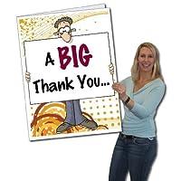 2'x3' Giant Thank You Card (Big Nose) W/Envelope [並行輸入品]