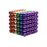 Yiteng 強力磁石の立体パズル!マグネットボール216個セット5mm(6色)