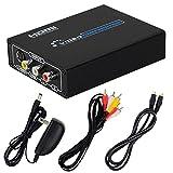 DATACE S端子/コンポジット to HDMI変換コンバーター アナログ hdmi変換器 Sビデオ hdmi変換 コンポジット hdmi 変換 rca hdmi 変換 av to hdmi s端子 hdmi 変換 AV/S-Videoケーブル付属