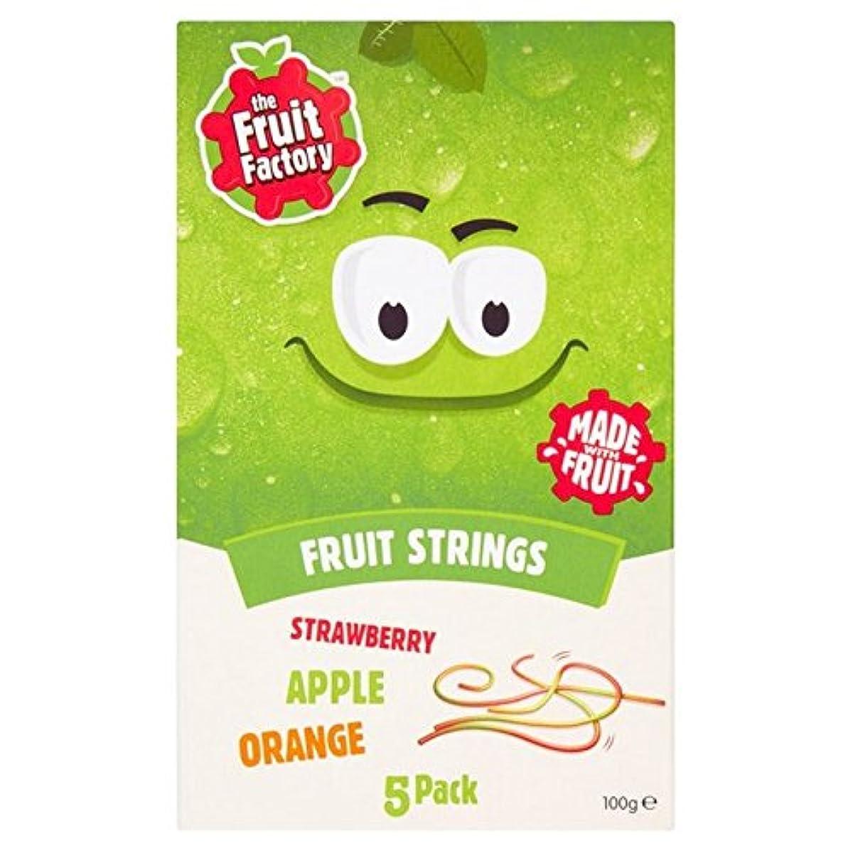 余韻誘うピル(The Fruit Factory (フルーツ工場)) イチゴ、リンゴ&オレンジ果実の文字列100グラム (x2) - The Fruit Factory Strawberry, Apple & Orange Fruit...