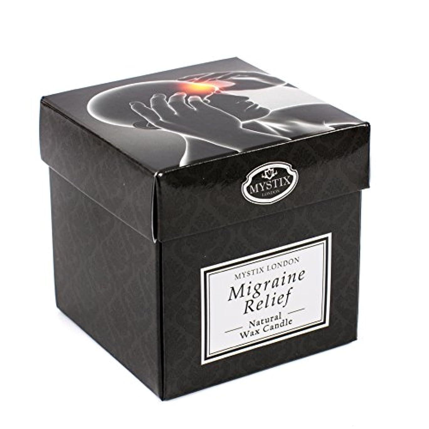 原告ムス呪われたMystix London | Migraine Relief Scented Candle - Large