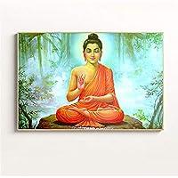 禅仏キャンバス壁アートプリントポスター油絵写真用リビングルーム宗教抽象家の装飾非フレーム