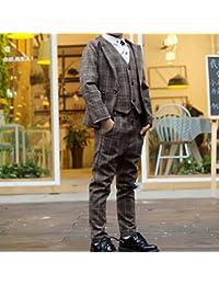 0675b89e819f6 YideaHome 子供スーツ 男の子 フォーマルスーツ 紳士服 ジャケット ...